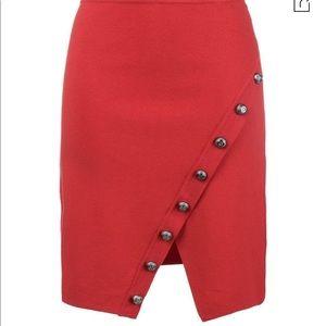 Pinko red skirt
